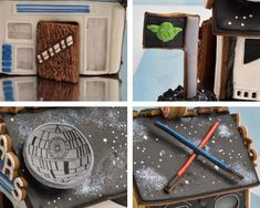 Chewbacca cookie door.
