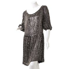 Gretel Sequin Dress by alice + olivia by Stacey Bendet
