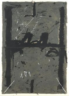 Antoni Tapies. #art #abstract #expressionism