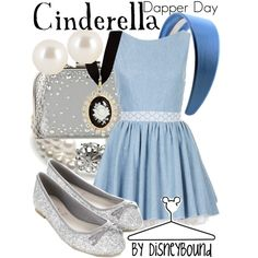 Cinderella by leslieakay on Polyvore featuring Topshop, Accessorize, ALDO, Red Herring, Henri Bendel and Disney