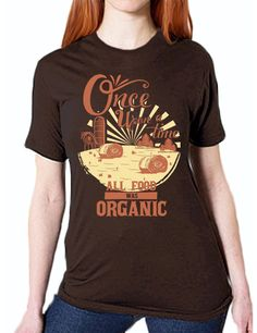 """Once Upon a Time"" Unisex T-Shirt (Organic Cotton)"
