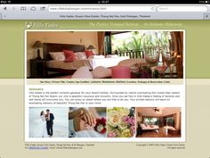 Villa Vadee Romance Imagery and text Koh Phangan, Romantic Getaway, Flourish, Dreaming Of You, Villa, Spa, Romance, Social Media, Holiday