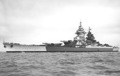 French Battleship Richelieu.