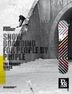 Elan Snowboards branding 2012 | vbg.si - creative design studio