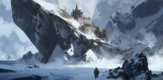 The fallen cities - Argalith Landscape Concept, Fantasy Landscape, Landscape Art, Environment Concept, Environment Design, High Fantasy, Fantasy World, Fantasy Life, Fantasy Concept Art