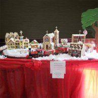 The Wartburg Gingerbread Village