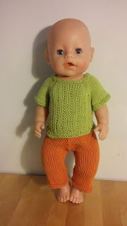 BabyBorn measurements Height: 43 cm Chest: 28 cm Thigh: 17 cm Calf: 13 cm Arm: 11 cm Head: 33 cm The yarn I have used. Baby Born Clothes, Boy Doll Clothes, Knitting Dolls Clothes, Crochet Doll Clothes, Doll Clothes Patterns, Clothing Patterns, Knitted Doll Patterns, Knitted Dolls, Baby Patterns
