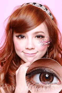 Geo Angel Brown Circle Lenses (Colored Contacts)