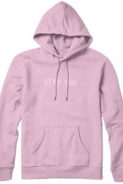 Stay You Hoodie (Light Pink)