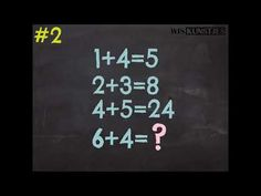 Wiskunde Raadsel #2 - YouTube Algebra, Calm, Youtube, Youtubers