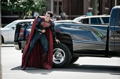 Superman : Man Of Steel!!
