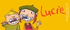 Retrouvez toutes les videós de LUCIE. A l'âge de 8 ans, Lucie a les obligations habituelles des enfants de son âge: ranger sa chambre, etc….