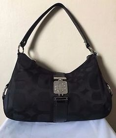 Dana Buchman Women's Black Polyester Hobo Handbag    eBay