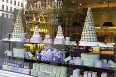 Macaron Mecca Ladurée Opens in New York.