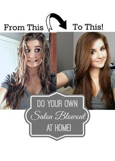 How to get that salon look for less! DIY Blowout Tutorial just like you get in the Salon.