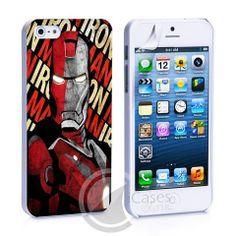 Iron Man Marvel iPhone 4, 4S, 5, 5C, 5S Samsung Galaxy S2, S3, S4 Case – iCasesStore #gs3