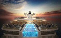 Not convinced by cruise ship swimming pools? Here are 12 that will make you want to jump right in