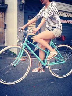 Wonder Bicycle Vintage style bike #Taipei
