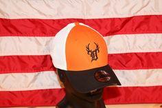 New Era 3930 Black & Orange