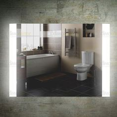 Bathroom Wall Mount Vanity Backlit Mirror