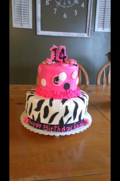 Teenage girl birthday cake!