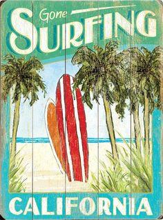 Surfboards Custom Sign: Beach Decor, Coastal Home Decor, Nautical Decor, Tropical Island Decor & Beach Cottage Furnishings