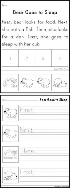 Where Do Animals Go In Winter Poster Kindergarten Worksheet