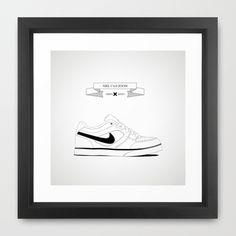 URBAN SHOES // 03 Framed Art Print
