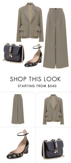 """Senza titolo #4651"" by marcellamic ❤ liked on Polyvore featuring Valentino"