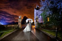 Wet wedding at Bagden Hall hotel between Huddersfield and Wakefield in November 2013. By Altered Images.