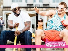 "Gronk and Big Papi Summer Chill Hit Single ""Sippin'""  -Dunkin Donuts (June 2015), Iced coffee is highlighted but more for the brand By targeting Boston sports fans, this ad is trying to envelop Dunkin Donuts into the famously strong Boston sports culture. This advertisement is effective because it is catchy and uses celebrity endorsement of two of the most famous Boston athletes."