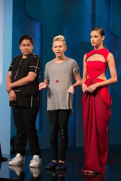 Designers Matt and Zachary talk about their design this week on Project Runway Junior.