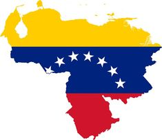 Venezuela has been in state of crisis since April The country has been ravaged with civilian anti-government protests, which have been responded to violently by the Venezuelan military, resul… Venezuela Flag, Venezuela Tattoo, Venezuela Wallpaper, South America Map, Latin America, Fc Nantes, Map Icons, Inca Empire, Map Outline