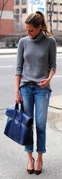 décontracté et élégant: le sac est la pièce maîtresse de cette tenue urbaine de WE