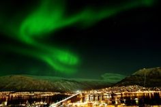 (PHOTO: Visit Norway)  Where to see the Northern Lights  Tromso, Norway  To see how accessible the Northern Lights can be, head to Tromso in Norway where you can see some stunning displays above the city centre. Even though they can be viewed in Tromso, you may want to escape the city to see the Northern Lights at their best.