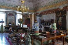 Valentino's home in Tuscany by Renzo Mongiardino