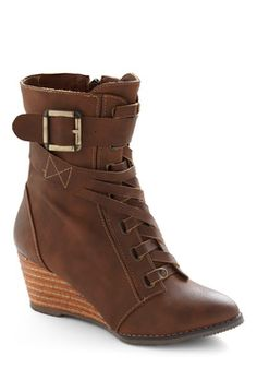 brown boot from Modcloth