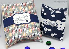 Pootlers Team Blog Hop - Pillowbox mit Produkten von Stampin' Up !