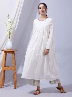 258c28fa 74 Best White Cotton Blouse images | Crisp white shirt, Blouse, Tunic