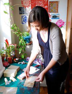 bock printing process  http://katharinewatson.blogspot.com/