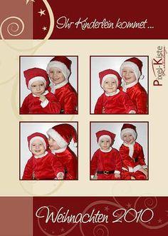 #Weihnachtskarten mit Foto