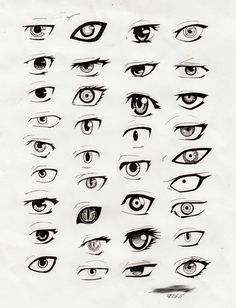 Anime eyes. I could use this for my drawings