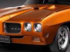 Pontiac GTO. Pure muscle.