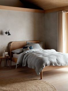 Buy Oak John Lewis & Partners Rattan Bed Frame, King Size from our Beds range at John Lewis & Partners. Rattan Bed Frame, Rattan Headboard, Diy Bed Frame, Fabric Headboards, Upholstered Headboards, Cool Bed Frames, Bed Frame Design, King Size Bed Frame, Bed Frame Double