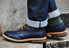 textured socks