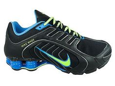 NEW WOMENS NIKE SHOX NAVINA SI RUNNING SHOES TRAINERS BLACK / FLASH LIME