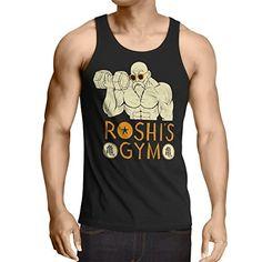 style3 Roshi Dragon Master Camiseta de tirantes para hombre Tank Top turtle ball…