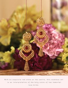 Jewelry Design Earrings, Gold Earrings Designs, Gold Jewellery Design, Handmade Jewellery, Jewelry Stand, Aldo Jewelry, Necklace Designs, Real Gold Jewelry, Indian Gold Jewelry