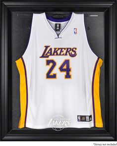 4950fa521 Los Angeles Lakers Framed Logo Jersey Display Case