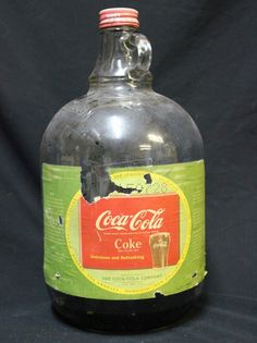 Coca‑cola 1 Gallon Glass Jug Syrup